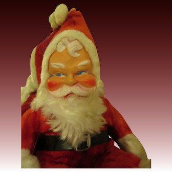 Vintage Plush Santa Claus Doll
