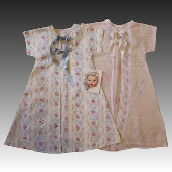 Pair of Dy Dee Baby Kimonos-Soft & Lovely