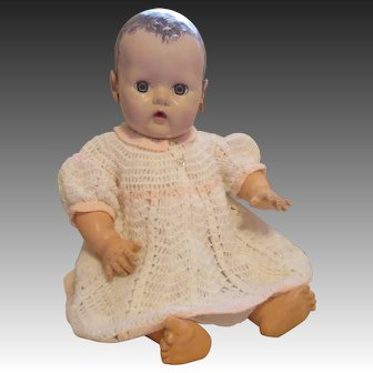 Adorable Crochet Baby Doll Dress