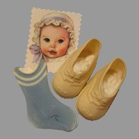 Baby Doll Shoes & Socks-Minty