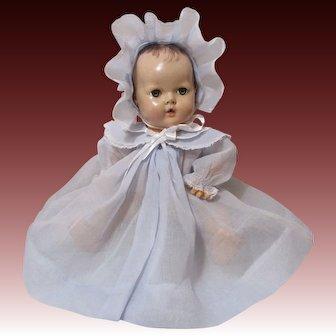 Gorgeous Blue Coat & Bonnet For Dy Dee Baby