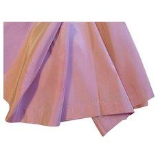 Vintage Rayon Taffeta Fabric