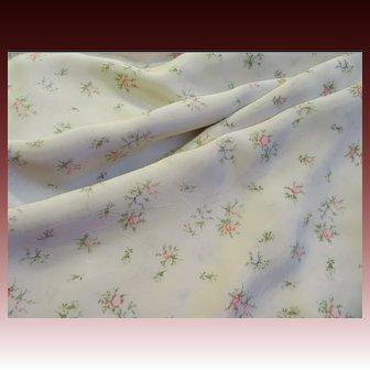 Fabulous 1940's-50's Rayon Taffeta Fabric
