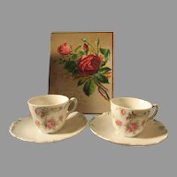 Charming Vintage Doll Teacups & Saucers