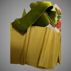 Gorgeous Moss Green & Olive Green Ribbons