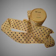Cute Polka Dot Vintage Ribbon