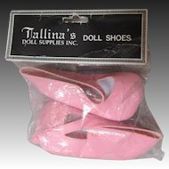 Pink Shoes For Large Doll