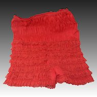 Sassy Pants!  Ruffled Nylon Ladies Bloomers