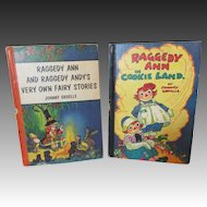 Two Vintage Raggedy Ann Books