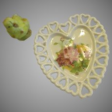 Valentine Heart Shaped Powder Room Dish