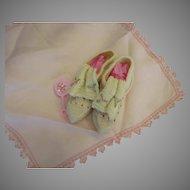 Long Tonque Baby Shoes Won't Lick Ya' -Scrumptious Antique Shoes