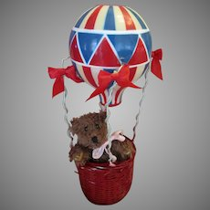 Johnny Always Wanted to Go Up in It- Hot Air Balloon Decoration