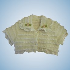 Frilly Knit Doll Sweater