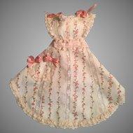 Feminine Rose Cotton Enfantine Doll Apron