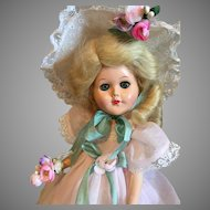 "Charming Southern Belle Bridesmaid ""Dress Me"" Doll-1950's"