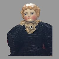 Graceful Antique Blonde China Doll