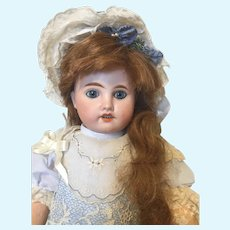 Stunning Antique French Doll!  Gorgeous Eyes.