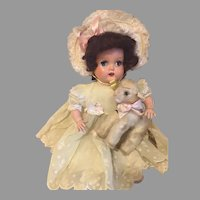 Sweet Vintage Lamb For Your Dolls To Cuddle