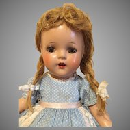 "Rare Madame Alexander Flora McFlimsey-1937, 13"" Tall"