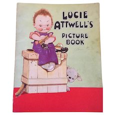 Fabulous 1936 Lucie Atwell Picture Book