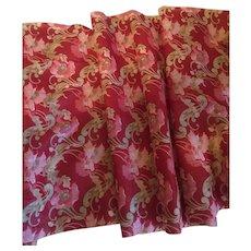 More Gorgeous Antique Cotton Fabric