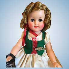 Gorgeous Vinyl Shirley Temple Doll-1958, Boxed-Mint