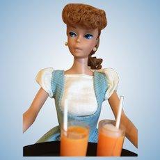 Titian Hair Ponytail Barbie-Box, Clothes!