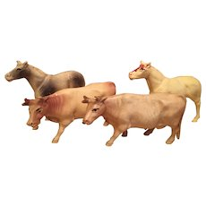 Small Herd of Celluloid Animals