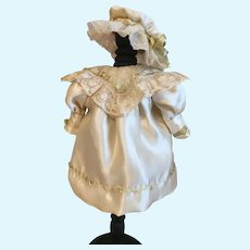 Marvelous Silk Doll Costume French Bebe