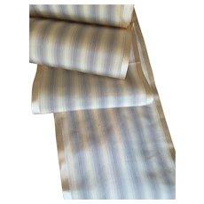 Beautiful Stripe Antique Silk Taffeta Ribbon