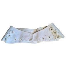 Ladylike Vintage Linen Collar