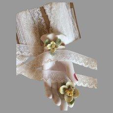 Delicate Vintage Nylon Lace