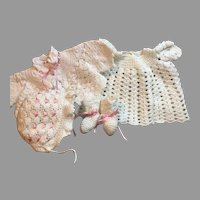YUMMY Vintage Baby Doll Crochet Set