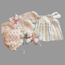 YUMMY Vintage Baby Doll Crochet Set