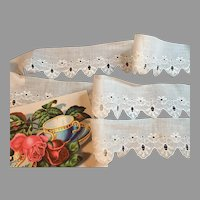 Pretty Vintage Cotton Trim