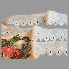 Pretty Vintage Cotton Trim