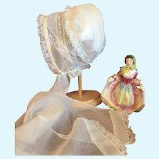 Beautiful Antique Heirloom Bonnet