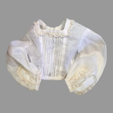 Airy Summer French Fashion Blouse