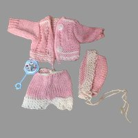 Vintage Ginnette Sweater Set-Cute!