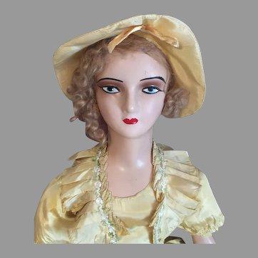 Miss Belle of the Boudoir-1930's Bed Doll
