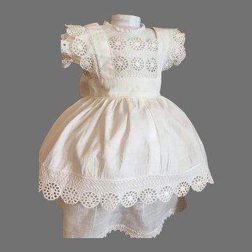 Pretty Summer Doll Dress & Pinafore!