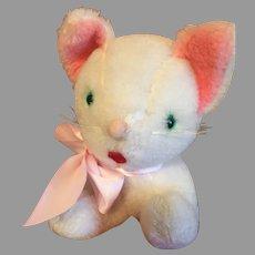 CUTE Vintage Gund Crouching Cat