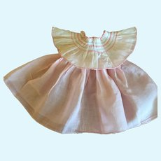 Fluffy Shirley Temple Type Doll Dress