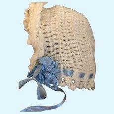 Sweet Vintage Doll Bonnet