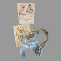 Precious Vintage Box Of Baby Necessities