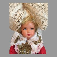 Stunning Vintage French Folk Doll
