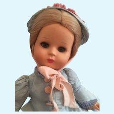 """Dixie"" Beautiful Early Furga Doll"