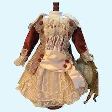 Marvelous Autumn Doll Dress-French Dolls