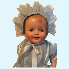 "Fabulous Vintage ""Happy Baby"" Baby Doll"