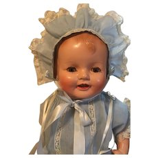 """Fabulous Vintage """"Happy Baby"""" Baby Doll"""